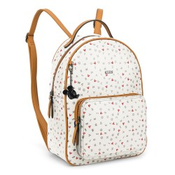 Bolsa Mochila Letter Soup Mickey Off White