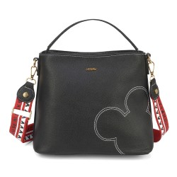 Bolsa Tote Hide and Seek Mickey Preto