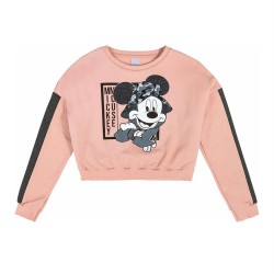 Blusão Mickey Mouse Estilo Cropped com Estampa