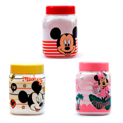 Pote Multiuso Mickey e Minnie Disney 500mL