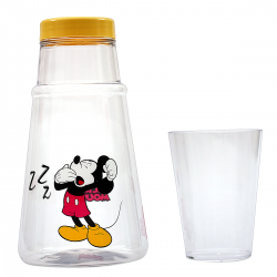 Moringa de Acrílico Mickey Mouse 1200mL