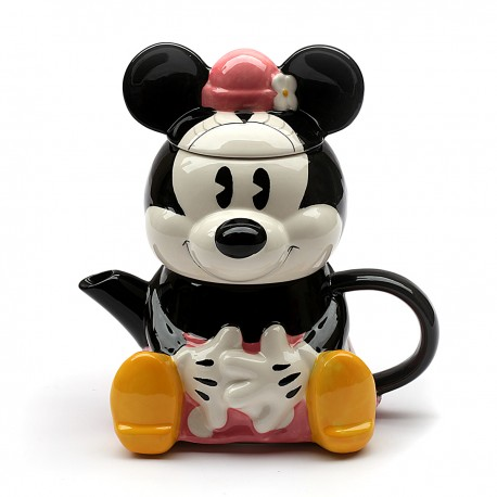 Chaleira e Açucareiro Minnie Mouse 720ml