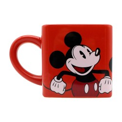 Caneca Quadrada Red Mickey e Minnie Mouse 300mL