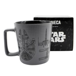 Caneca Star Wars Spacecrafts Coffeelovers 400mL