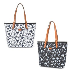 Bolsa Tote Mickey Sketch Off White